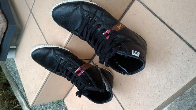 スニーカー靴底の補修