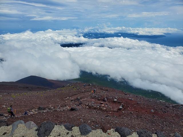 富士登山と1型糖尿病